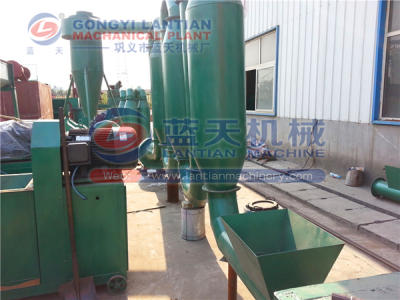 Wood sawdust dryer